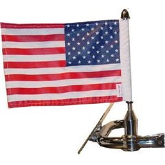 Square Rack Flag Mount