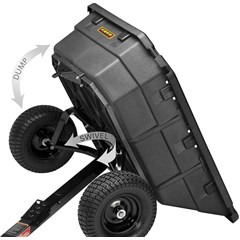 Swivel Dump Cart