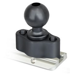 RAM 1.5in. Ball Quick Release Track Base (Track Dimensional Range: .250in. - .562in.)