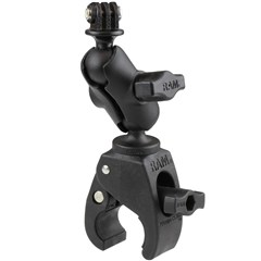 RAM Small Tough-Claw with Short Arm with Custom GoPro/Action Camera Adapter