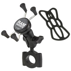RAM Torque Handlebar/Rail Mount with X-Grip Cradle
