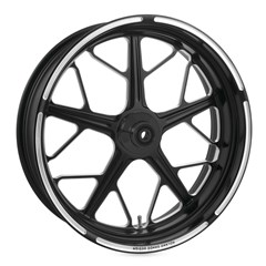 Hutch Dual Disc Front Wheel