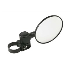 Base Clamp System 5in. Convex Round Mirror
