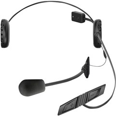 3S Bluetooth Headset and Intercom with Wired Boom Microphone