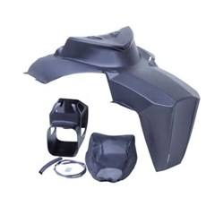 Composite Lightweight Hood, Air Intake and Headlight Delete Kit