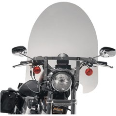 17in. Classic Windshield with Chrome Hardware