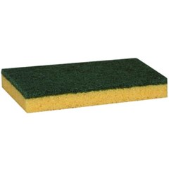 2-IN-1 Cellulose Scrubber/Sponge