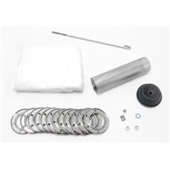 3in. Disc Clamp-On Silencer Core Kit for 4-Stroke