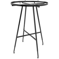 36in. Display Folding Round Rack