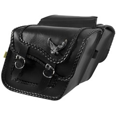 Black Magic Compact Slant & Super Slant Saddlebags