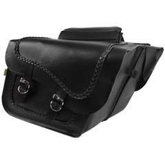 Braided Fleetside Slant Saddlebags