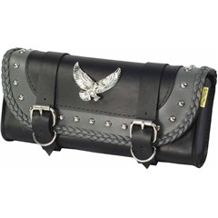 Gray Thunder Studded Tool Pouch