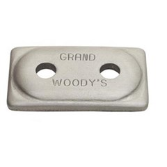 Grand Master Two-Hole Double Grand Digger Support Plates
