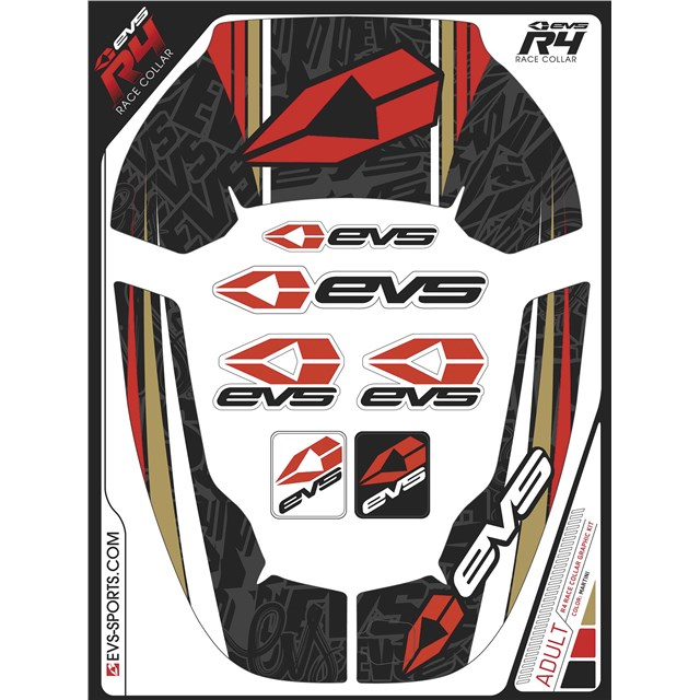 R4 Race Collar Graphics Kit