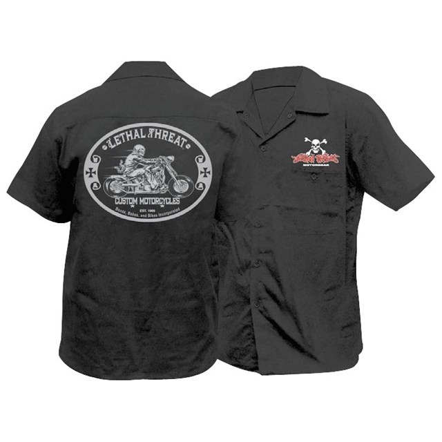 LT Custom Motorcycle Work Shirt