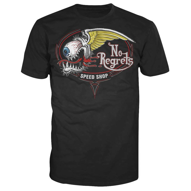 No Regrets Speed Shop Men's Tee