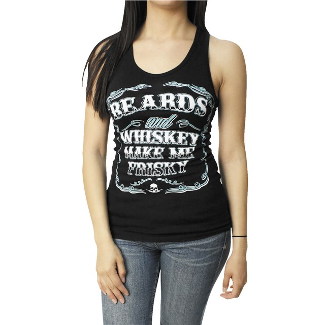 Beards And Whiskey Women's Tank