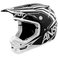 EVOLVE Black/White Visor