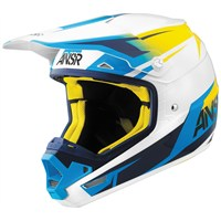 Evolve Spectrum White/Yellow Visor