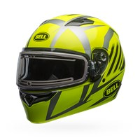 Qualifier Snow - Blaze Yellow/Titanium Electric Shield