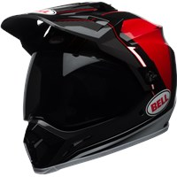 MX-9 Adventure MIPS - Gloss Black/Red/White Berm