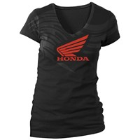 Ladies Abstract Wings Short Sleeve Tee