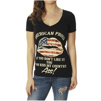 American Proud Women's V-Neck