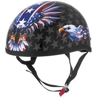 Skid Lid™ Original Helmet USA Flame Eagle