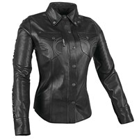 Black Heart™ Leather Moto Shirt
