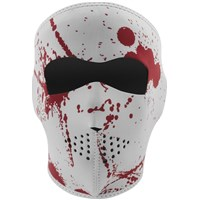Full Face Neoprene® Mask Blood Spatter