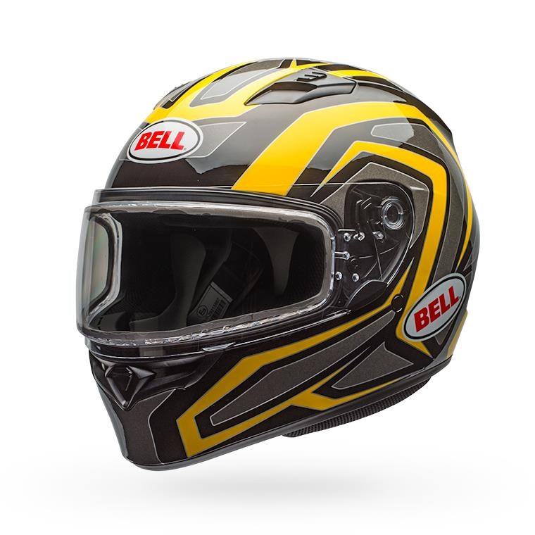 Qualifier Snow - Reflective Yellow Dual Shield