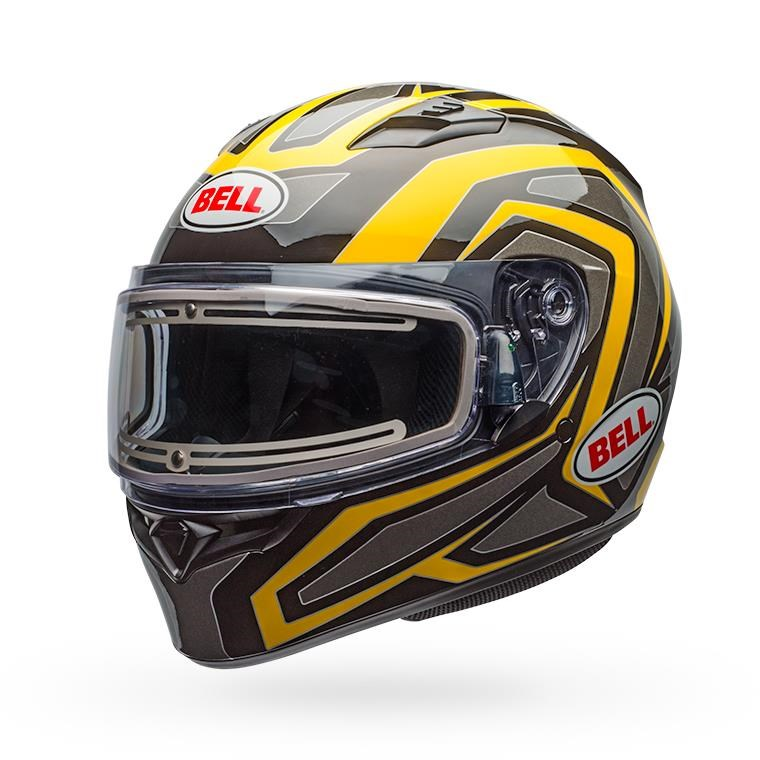 Qualifier Snow - Reflective Yellow Electric Shield