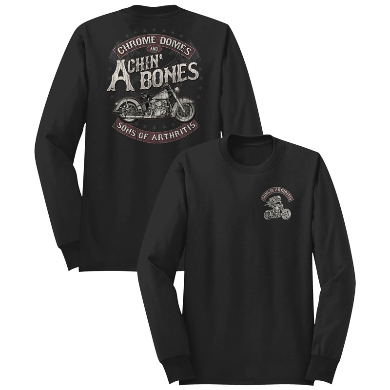 SOA Chrome Domes Long Sleeve T-Shirts