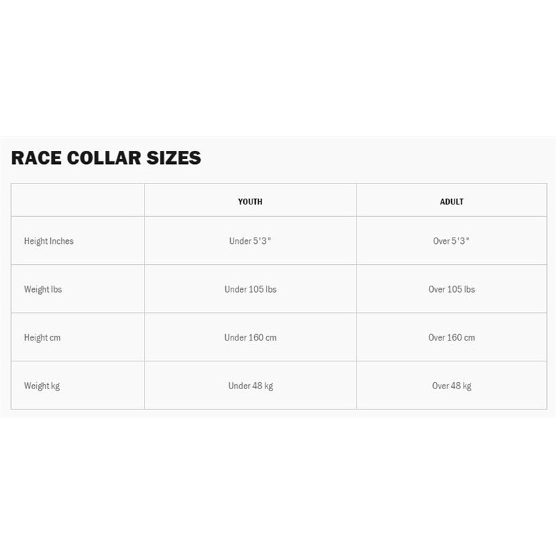 R4 Youth Race Collar