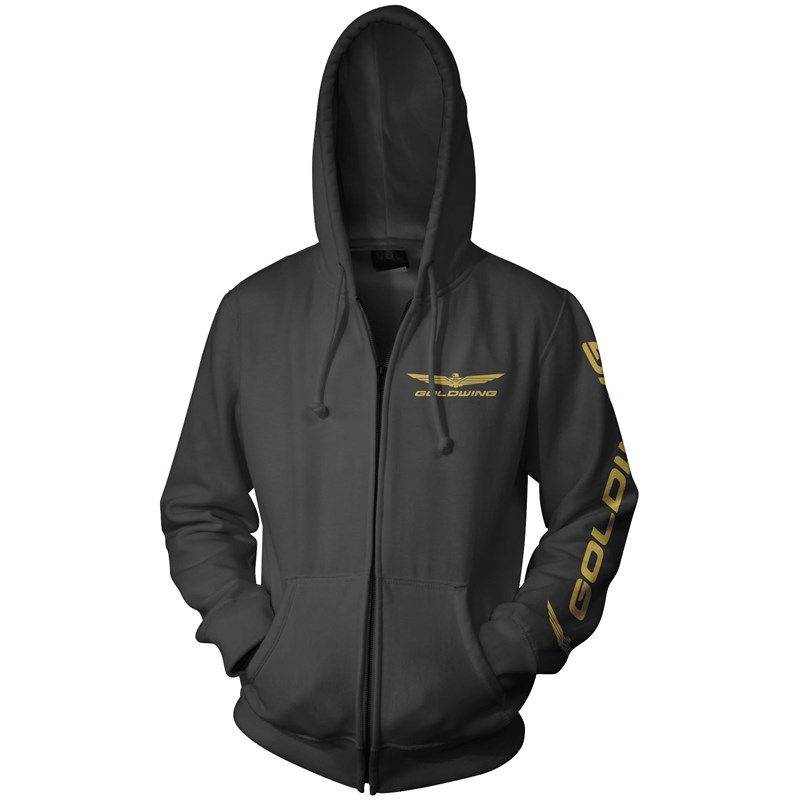 Gold Wing Zip Hoody