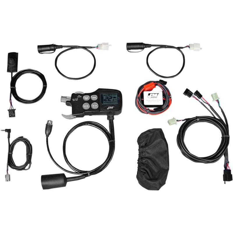 JMCB-2003 Handlebar-Mounted CB Audio System for Driver/Passenger Headset Operation