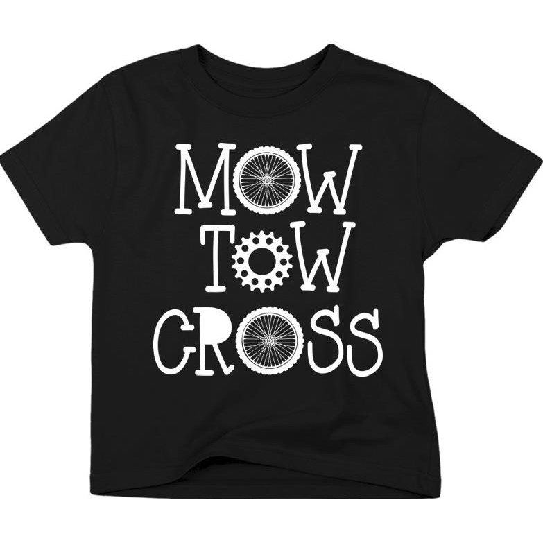 Mow Tow Cross Toddler T-Shirts
