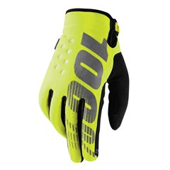 Brisker Cold Weather Gloves Neon Yellow