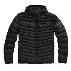 Delta 1 Puffer Hooded Zip Jackets