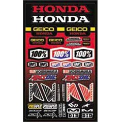 Geico Honda Decal Sheet