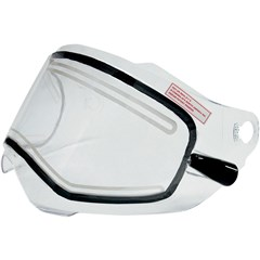 AMPD Electric Dual-Lens Shield with Cords for FX-39 Dual Sport Helmet