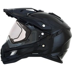 FX-41DS Snow Solid Helmets With Double Lens And Breath Guard