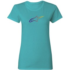 Ageless Gradient Womens T-Shirt