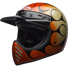 Moto-3 Chemical Candy Flames Helmet