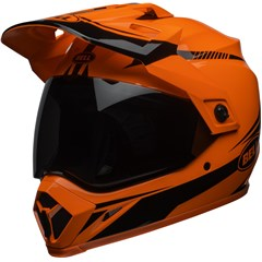 MX-9 Adventure MIPS - Gloss Hi-Viz Orange/Black Torch