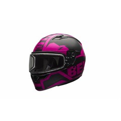 Qualifier Snow - Matte Pink/Black Dual Shield
