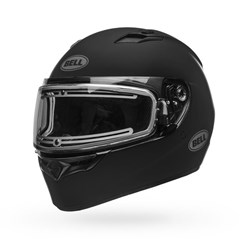 Qualifier Snow - Matte Black Electric Shield