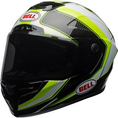 Race Star - Gloss Sector White/Hi-Viz Green