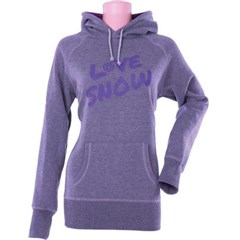 Love Snow Pullover Womens Hoodie