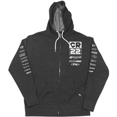 CR22 Racing Team Zip-Up Hoody